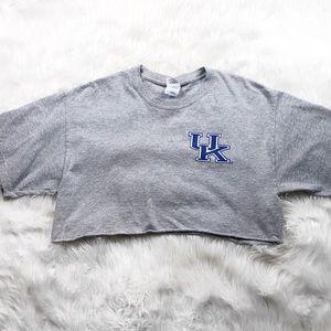 Tops - University of Kentucky crop top
